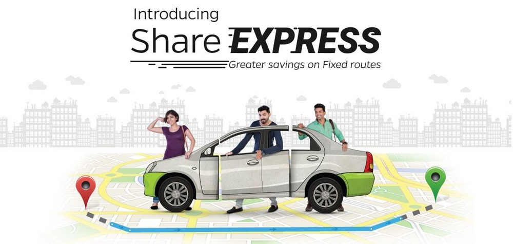Ola Announces 'Share Express' to Reduce Costs on Busiest Routes by 30%!