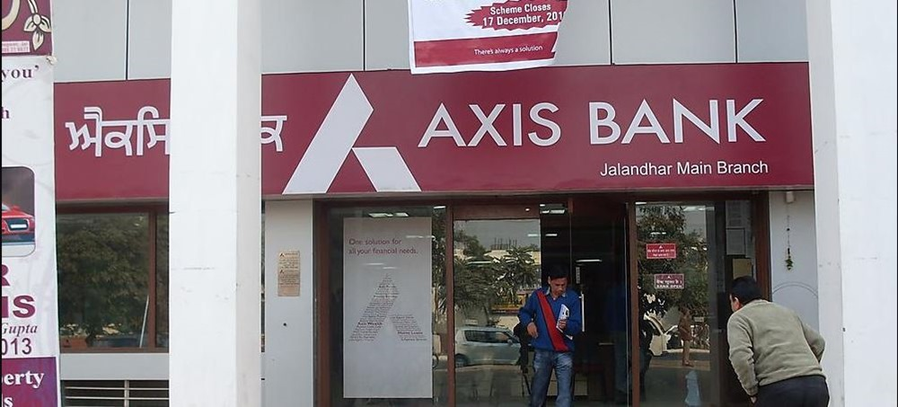 axis bank java software