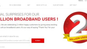 Airtel Offers Free Extra Monthly Data To Its Broadband Subscribers. Is It The Threat Of Jio Fiber?