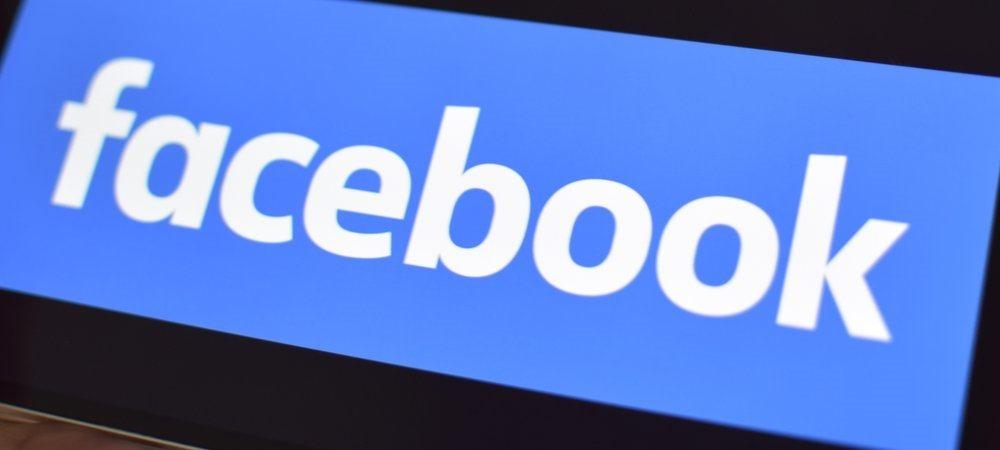 Facebook Bold Logo