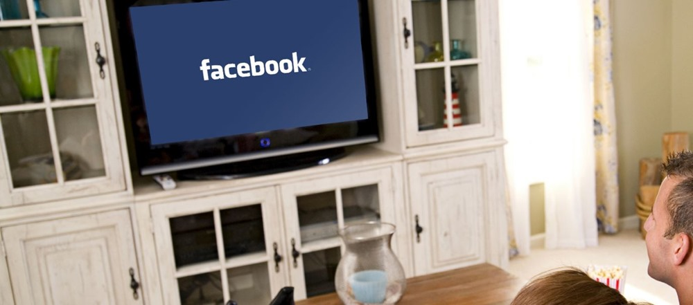 Facebook on TV