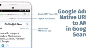 Google Adds Native URL to Accelerated Mobile Pages in Google Search!
