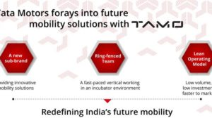 Tata Motors Unveils 'TAMO', An Incubator for Future Mobility Solutions; First Product to Debut on March 7