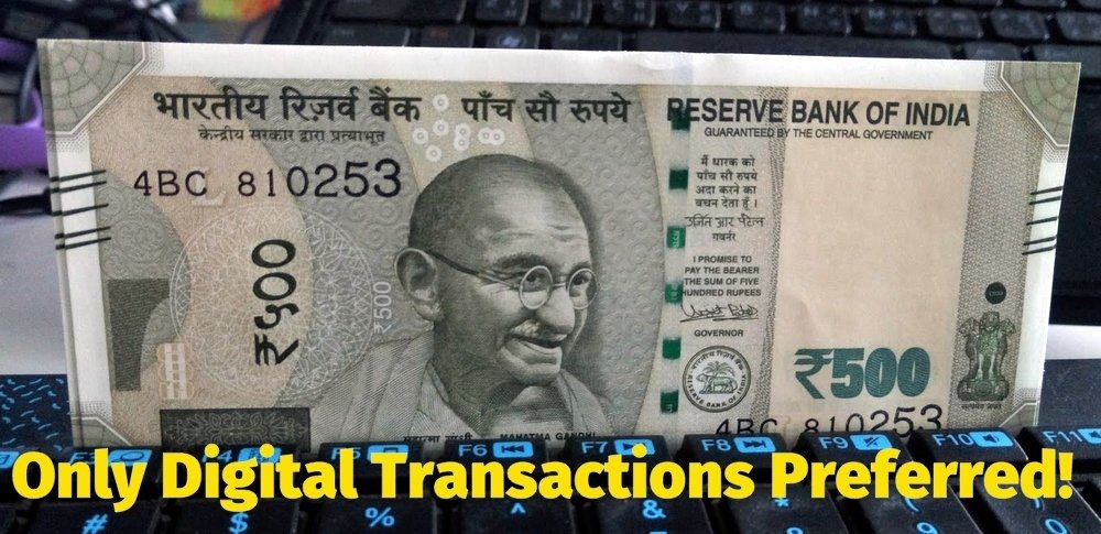 500 rupee Demonetisation Currency Note keyboard-001