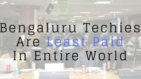Bengaluru Startup Techies Are Least Paid In Entire World; City Gets Featured Among Top 20 Startup Cities