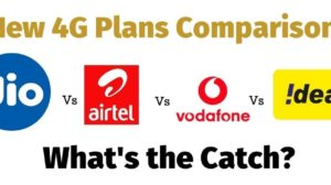 New 4G Plans Comparison: Reliance Jio Vs Airtel Vs. Vodafone Vs. Idea [Here is the Catch]