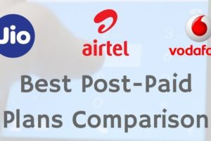 Here is a comparison of best postpaid plans offered by Reliance Jio, Airtel and Vodafone. If you are planning to pick up postpaid SIM card, this guide will serve as a reference to which operator services should you go for..