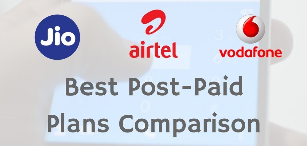 Post Paid Plans Comparison