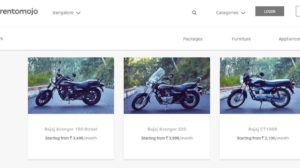 Rental Startup RentoMojo Launches 'Bikes on Lease' Service for Users!