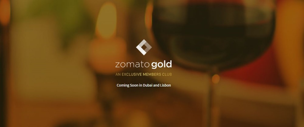 Zomato Launches Nightlife Experience Membership Service 'Zomato Gold' in UAE; Coming to India in June 2017
