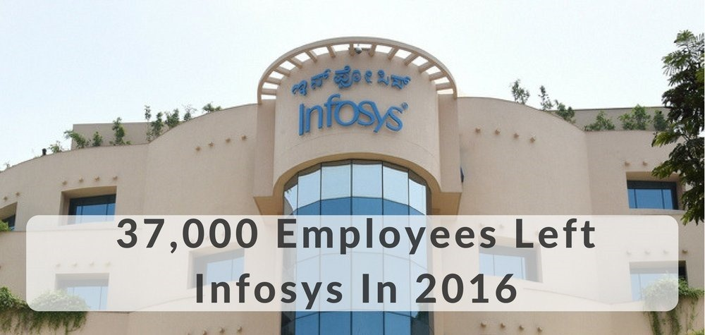 37,000 Employees Left Infosys In 2016 As Hiring Drops by 65%; Infosys Says They Will Now Hire More Locals in America