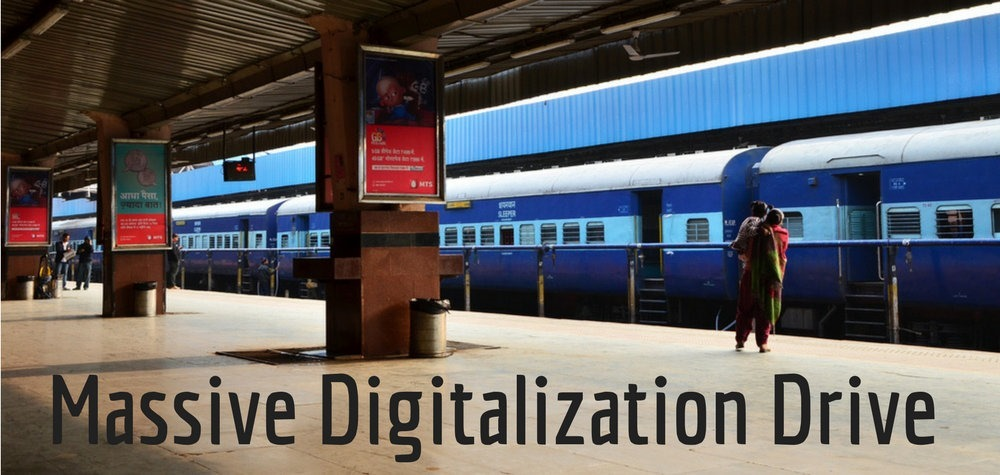 Massive Digitalization Drive