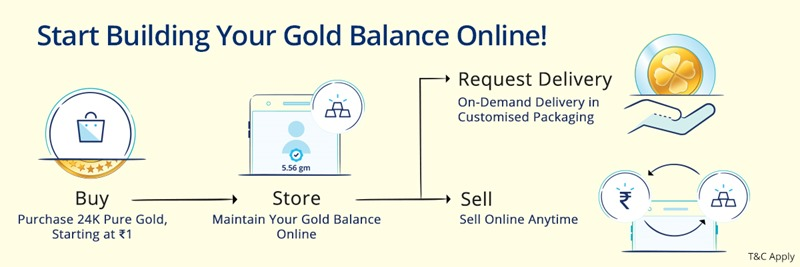 Paytm Build Gold