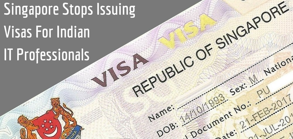 Singapore Stops Issuing Visas