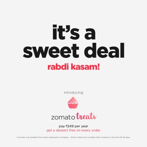 ZOmato Treats