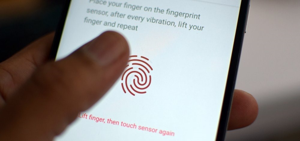 Fingerprint Scanner Biometric scan
