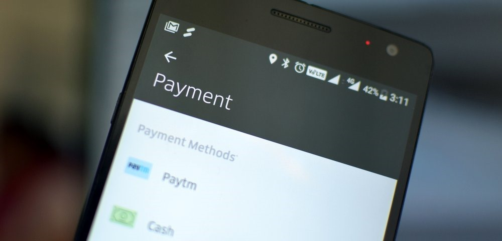 Paytm Payment Methods