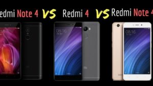 Redmi Note 4 vs. Redmi 4 vs. Redmi 4A - The Battle of Mid Budget Smartphones by Xiaomi