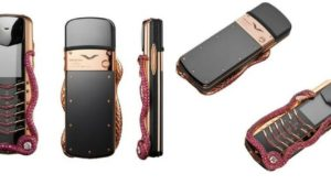 Vertu Shocks Us Again - Launches Rs 2.3 Cr Worth Vertu Signature Cobra Feature Phone!