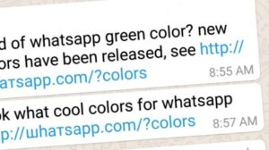 Don't Click! 'WhatsApp Color Change' Link on WhatsApp Is A Malware; People Report Data Loss!