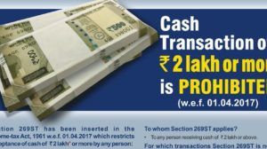 IT Dept. Reminds That Cash Transaction Above Rs 2 Lakh Is Illegal; Asks Public To Report Such Cash Transactions