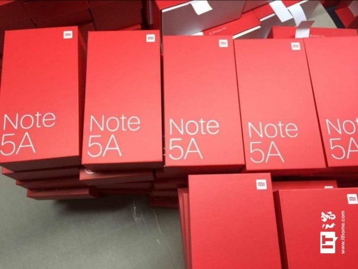 Redmi Note 5A Retail Box