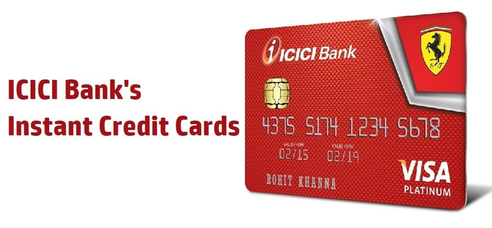 ICICI Instant Credit Card 2 Opt