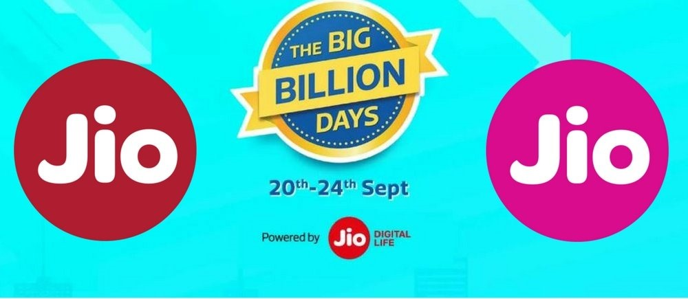 Jio Flipkart Big Billion Days Offer