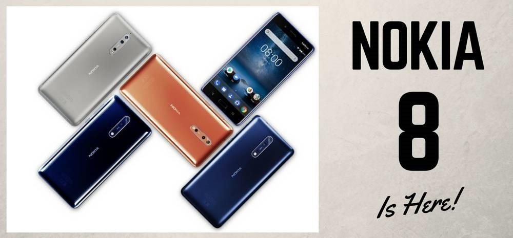 Nokia 8 Launching