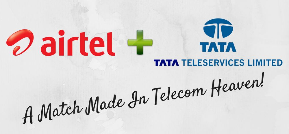 Airtel Tata Teleservices Merger