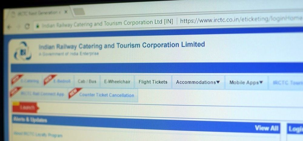 IRCTC New App & Website