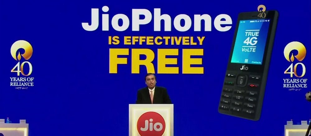 Jio Phone Making Way For Android Smartphone