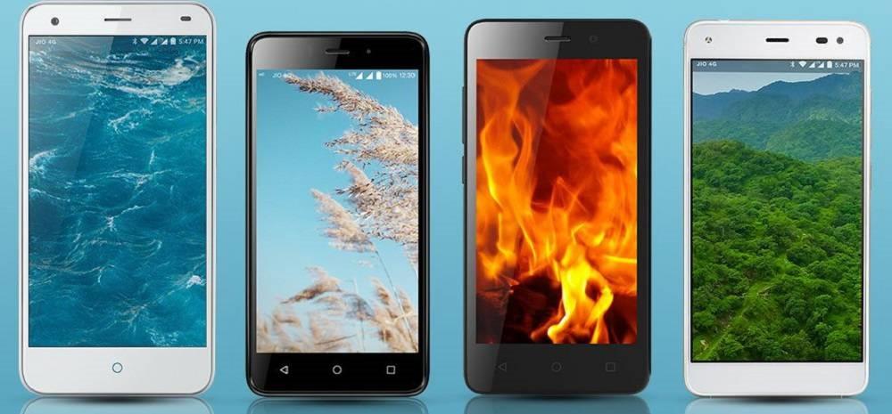 Lyf Smartphones Prices Slashed
