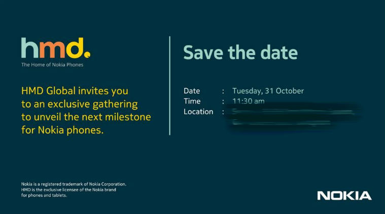 Nokia Launch Event Invite