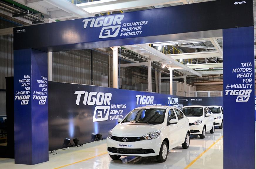 Tigor EV Rolls Out