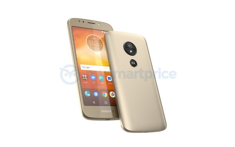 Moto E5 image leaked online, shows rear fingerprint scanner