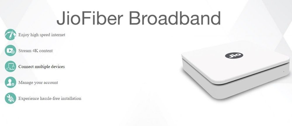 JioFiber Broadband Set To Launch