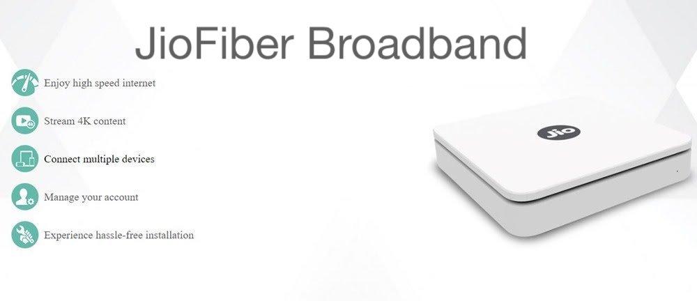 JioFiber Broadband Set To Launch