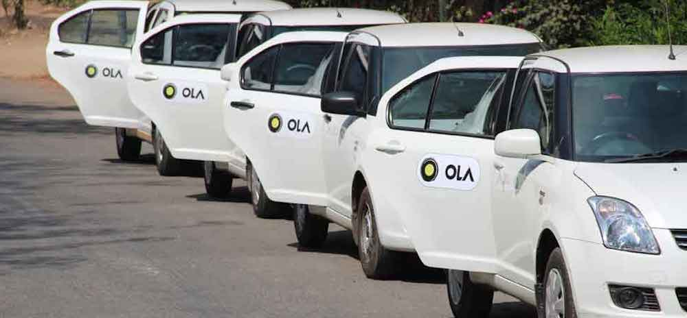 Book An OLA Cab Through IRCTC App