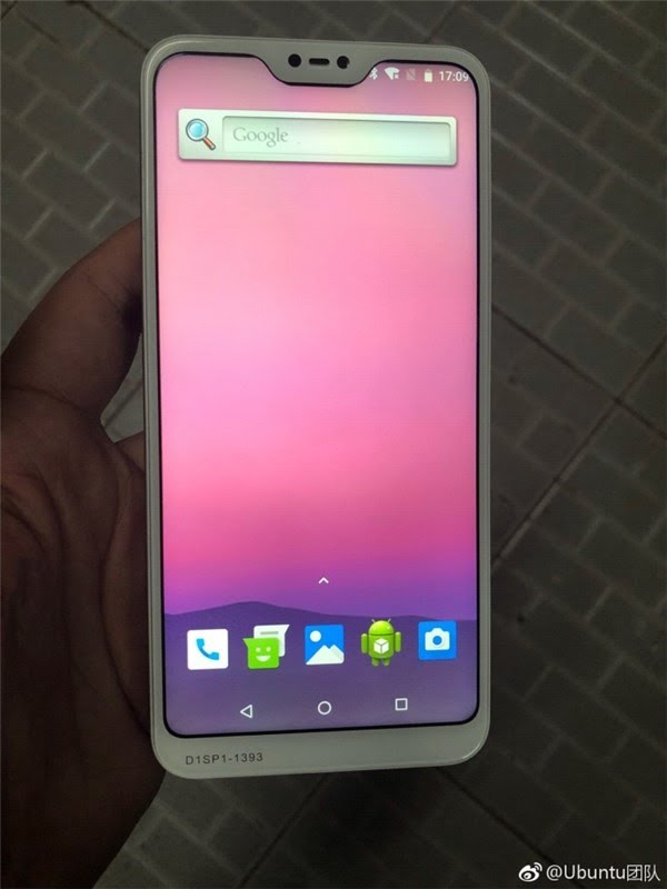 Redmi 6: Front Side