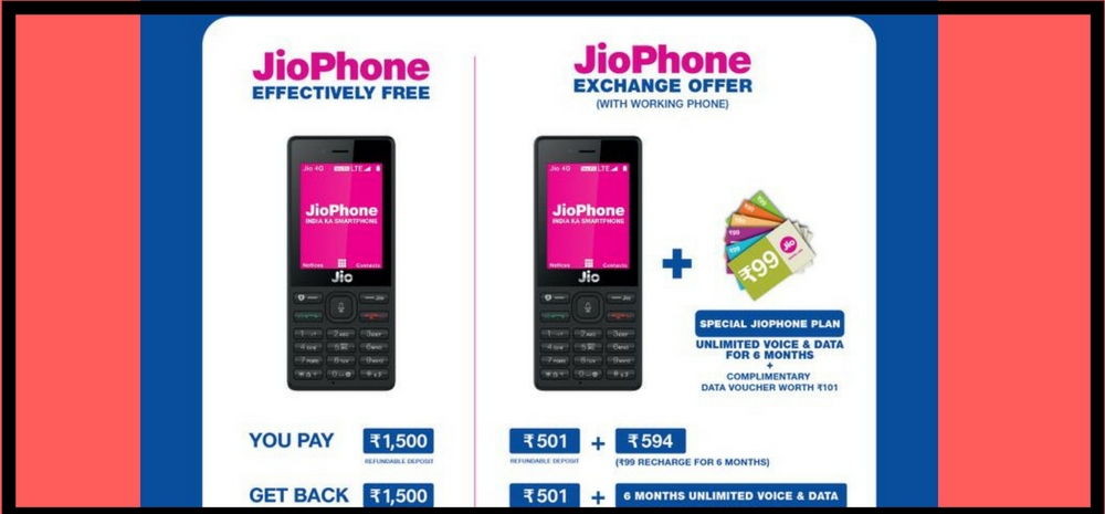 Details about Jio's Monsoon hungama