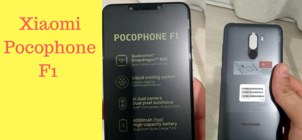 Features of Xiaomi Pocophone F1