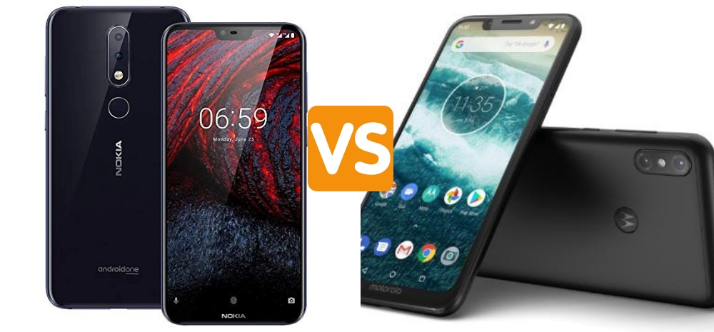 Nokia 6.1 Plus vs Moto One Power