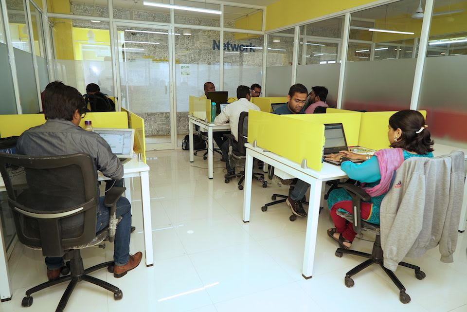 TRIOS co-working space in Pune