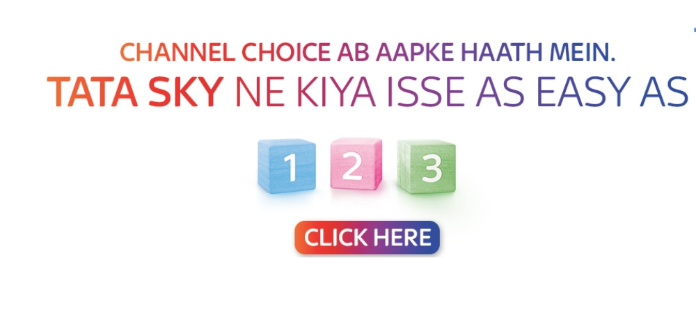 How to select Tata Sky new packs