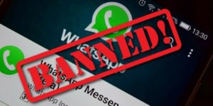 Whatsapp Account To Be Banned