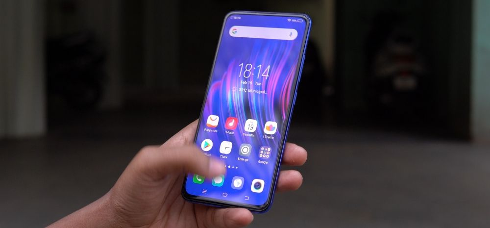 Vivo is bringing in a new series of smartphones (In image: Vivo V15 Pro)