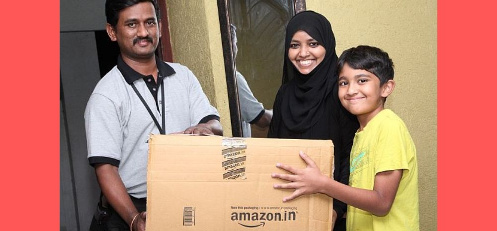 Amazon Will Pay You Rs 140/Hr To Deliver Packages In Spare Time