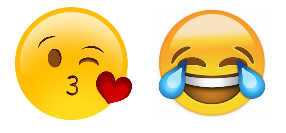 Which emojis are used the most by Indians?