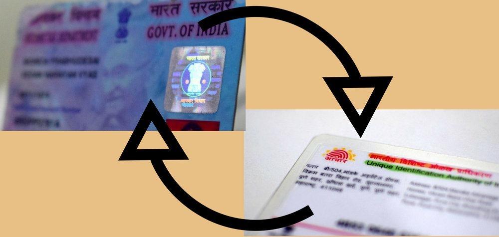 Link Your Aadhaar To Your PAN Card